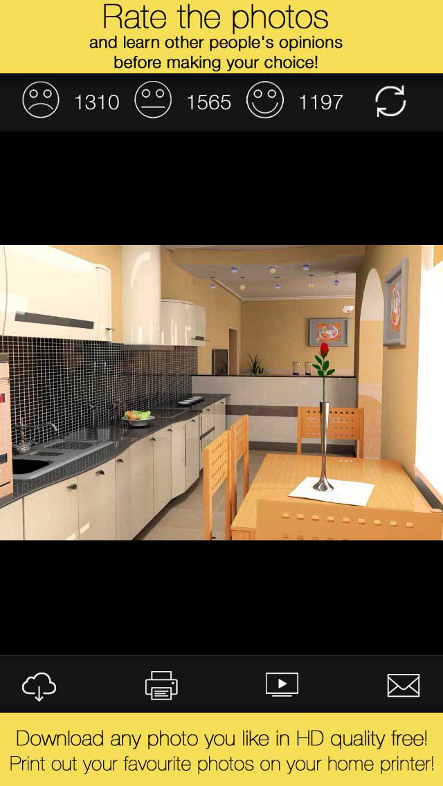 Kitchens new design ideas from professionals ios for Kitchen ideas app
