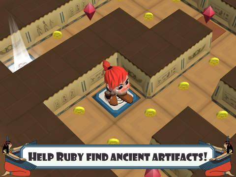 Ruby Maze Adventure: Find Lost Treasure
