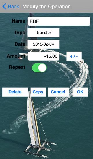 My Account Lite iPhone Screenshot 3