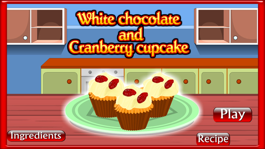 Cooking Game Cranberry Cupcake