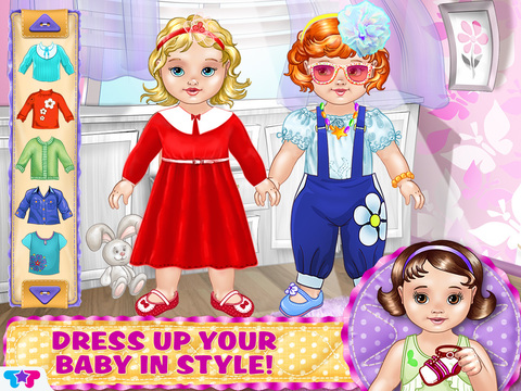 Baby Care & Dress Up – Play, Love and Have Fun with Babies