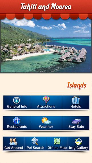 Tahiti Moorea Island Offline Travel Guide