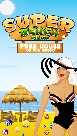 Super Beach Bingo - Free House of Fun Bingo