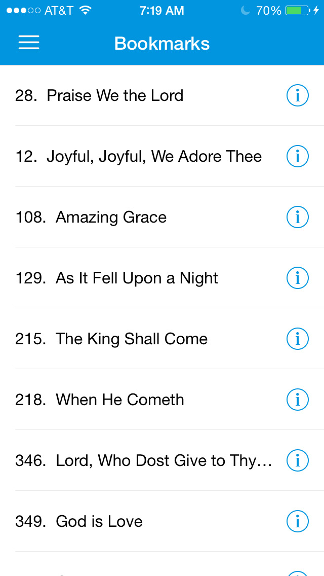 Adventist Hymnal - Complete Hymns for iPhone, iPod, iPad