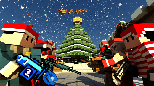 Elf Hunter Challenge 3D - Survival Multiplayer Christmas Holiday Edition with skin exporter for Mine