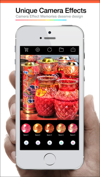 Pocket 360 Camera - camera effects plus photo editor Screenshots