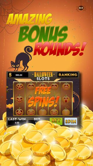 AAA Pumpkin Halloween Jackpot Slots - Free Slots Game