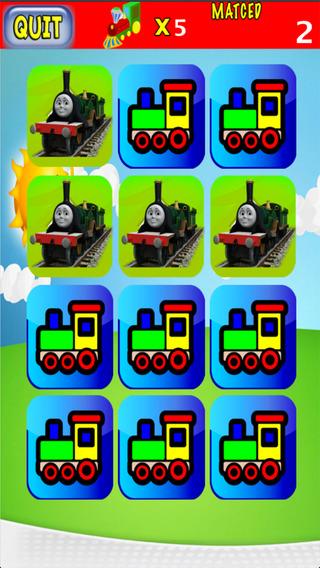 Memo Kids for Train Thomas edition