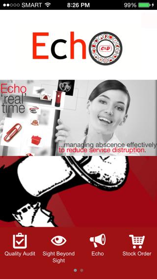 C D Echo
