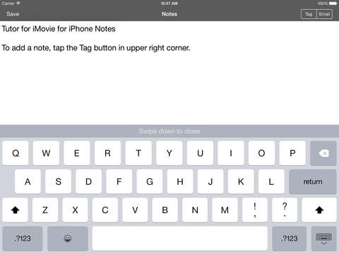 Tutor for iMovie for iPhone/iPod Touch iPad Screenshot 5