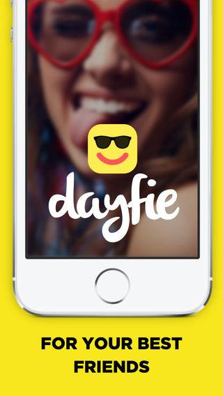 Dayfie - Selfie sharing for best friends