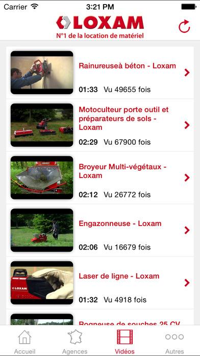 LOXAM iPhone Screenshot 3