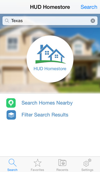 HUDHomestore Mobile Search