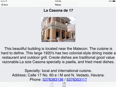 Cuban Recipes - Pork - HD iPad Screenshot 5