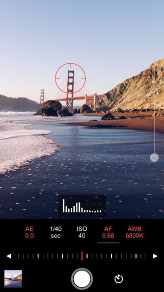 Shoot by ProCam - 手动相机[iPhone]丨反斗限免