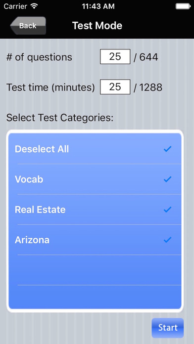 Arizona Real Estate Exam Prep iPhone Screenshot 4