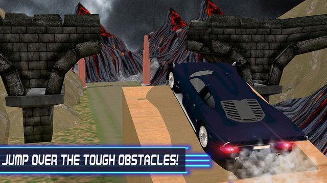 Speed Car Escape 3D - Escape through the dangerous hurdles and perform stunts
