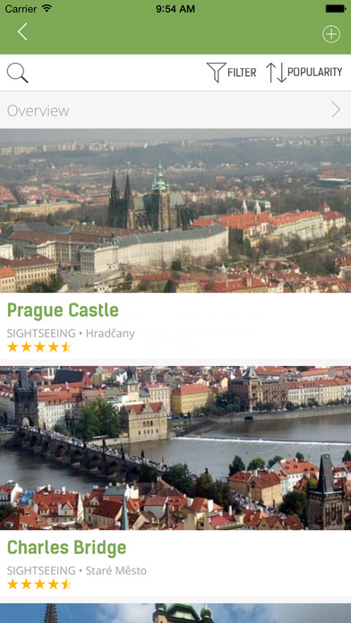 Prague Travel Guide (with Offline Maps) - mTrip Screenshots