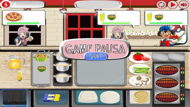 Pizza Cook Maker for Pokemon