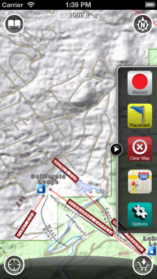 Heavenly GPS: Ski and Snowboard Trail Maps
