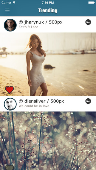 PicPick - Discover photos making buzz in the world's best photography communities