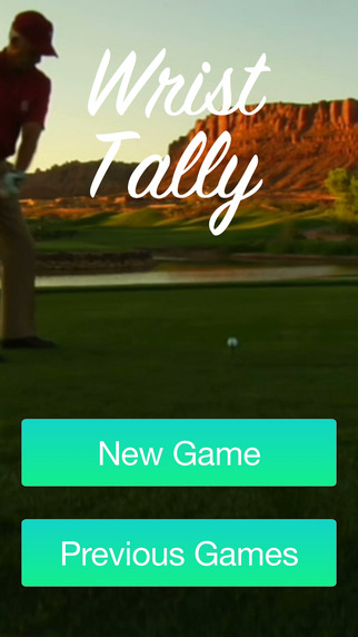 Wrist Tally - Golf Scorecard