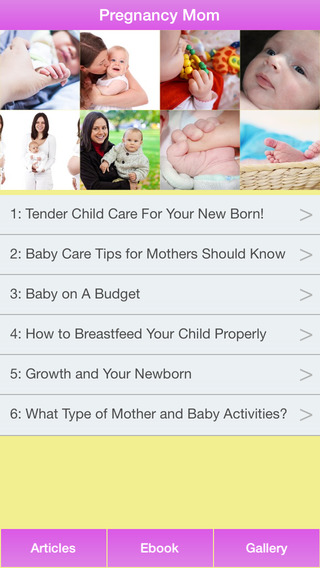 Pregnancy Mom - A Guide To Take Special Care Your Baby First 12 Months After Pregnancy