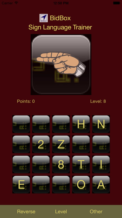 ASL Alphabet Trainer iPhone Screenshot 4
