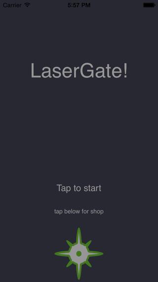 LaserGate flight