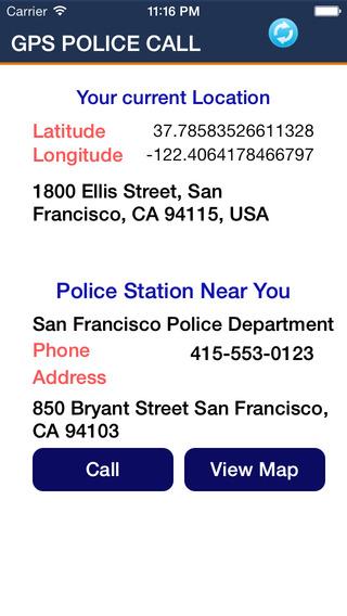 GPS Police Call
