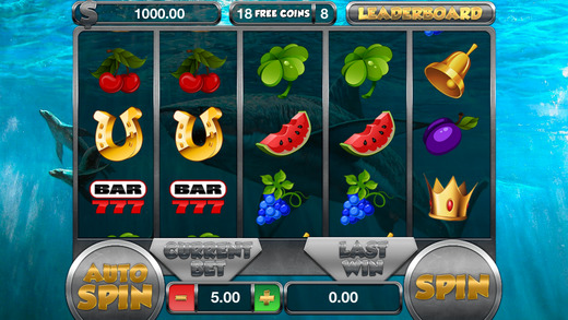 Shark Jackpot on Double Slots - FREE Slot Game Coins of Fortune Supreme Casino