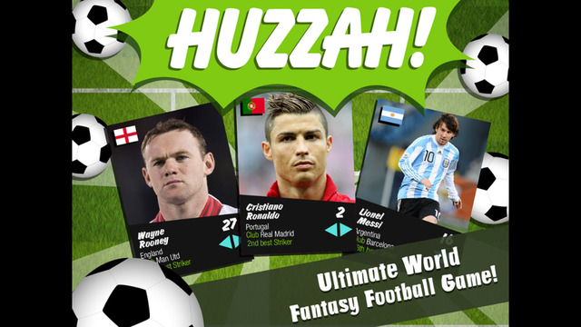 Huzzah - Ultimate World Fantasy Football Game