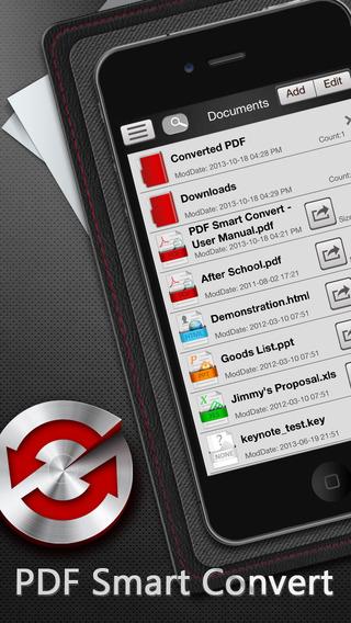 PDF Smart Convert - 全能 PDF 转换应用[iOS]丨反斗限免