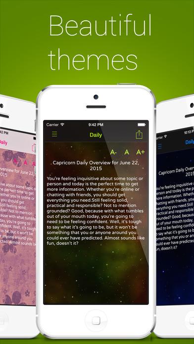 Full Horoscope iPhone Screenshot 2