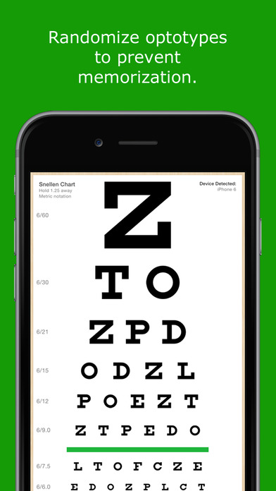 EyeChart iPhone Screenshot 3