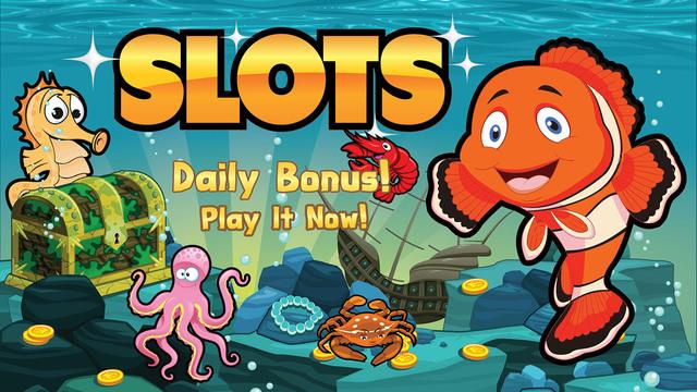 玩免費遊戲APP|下載Deep Blue Sea Slots Pro app不用錢|硬是要APP