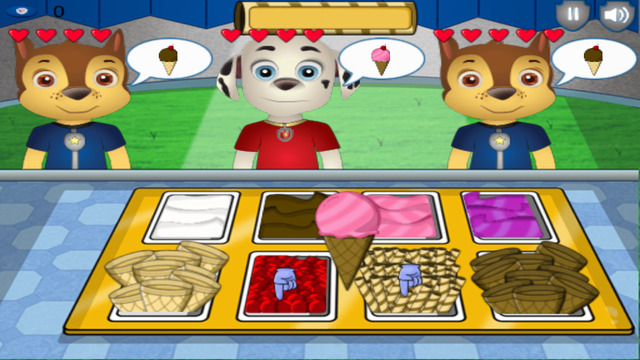 Ice Cream Delivery for Paw Patrol Edition