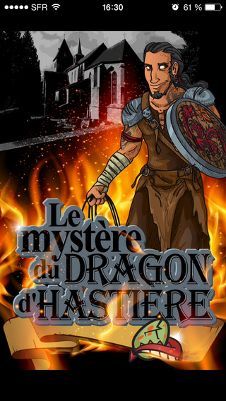 The rider of the dragon of Hastière