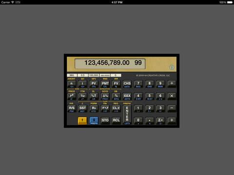 MathU 12C iPad Screenshot 1