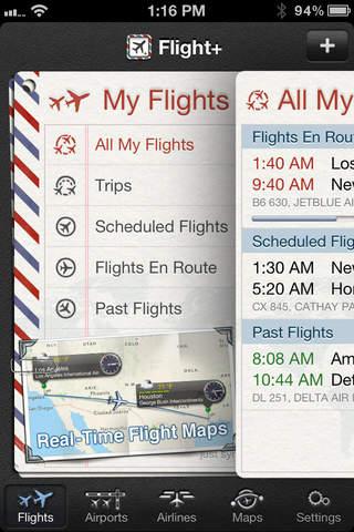 The Flight Tracker Pro screenshot 1