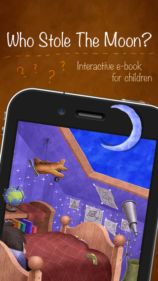 Who Stole The Moon - free version - Interactive e-book for children iPhone version