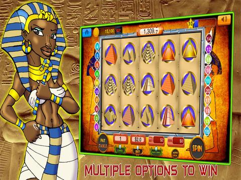 Slots Cleopatra 777- Free Win Pharaoh's Casino Machine-ipad-3
