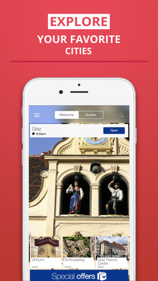 Graz - your travel guide with offline maps from tripwolf guide for sights restaurants and hotels