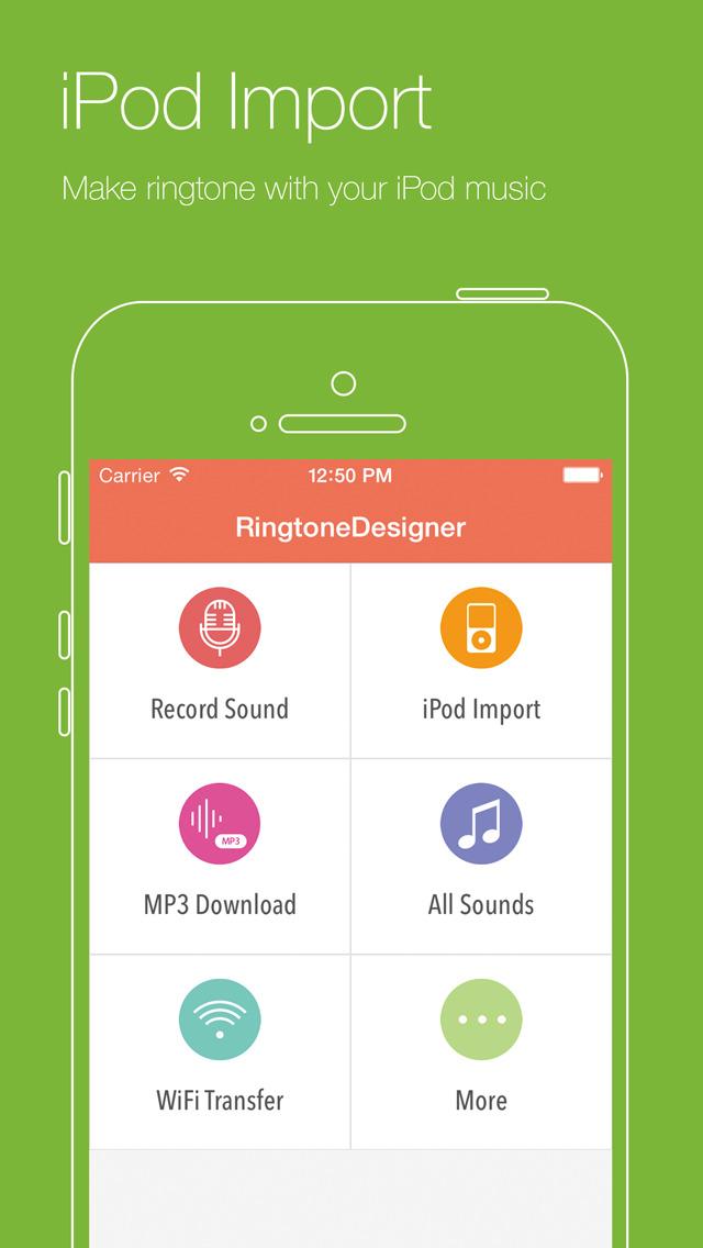 Ringtone Designer+ Скриншоты6