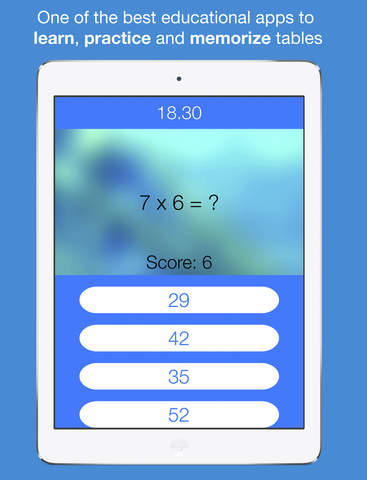 Times Tables Quiz - Cool & Fun Multiplication Table Math Solver ...