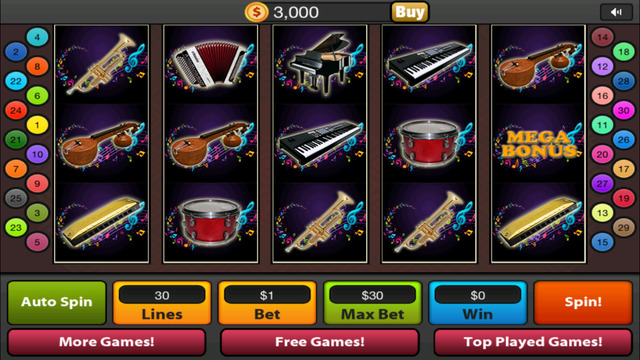 Classical Symphony Slots Free Casino Spin HD