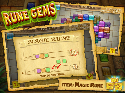 Rune Gems - Deluxe Screenshots