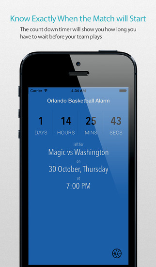 Orlando Basketball Alarm Pro