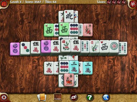 Random Mahjong iPad Screenshot 2