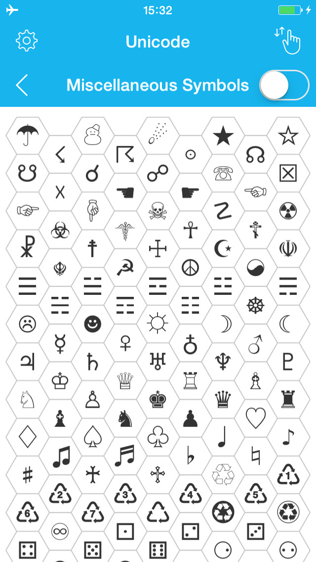 Unicode Map Characters And Symbols For Ios 8 Reference App For